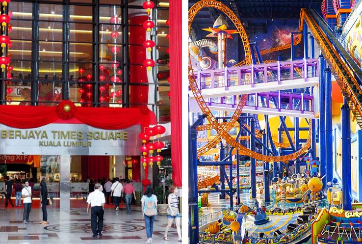 "Шоппинг молл ""Berjaya Times Square"" в Куала Лумпур"