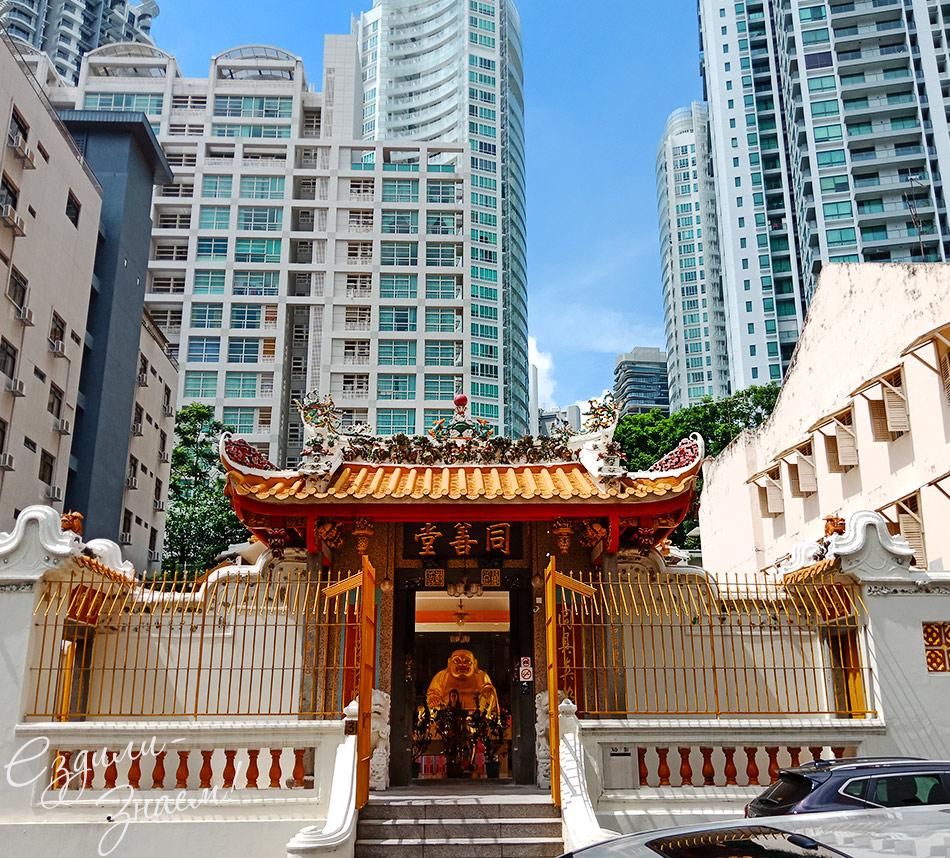 Храмы и небоскребы отлично соседствуют друг с другом