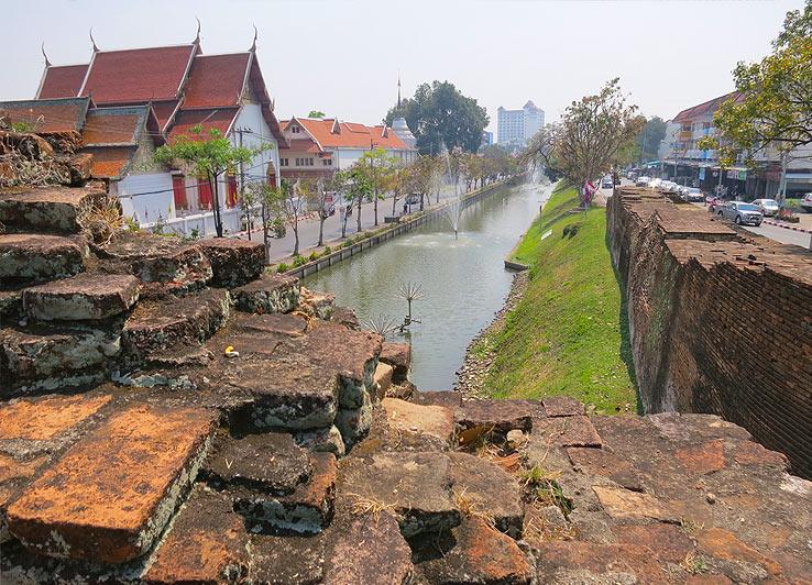 Вид на северо-восточный угол Квадрата, Чиангмай
