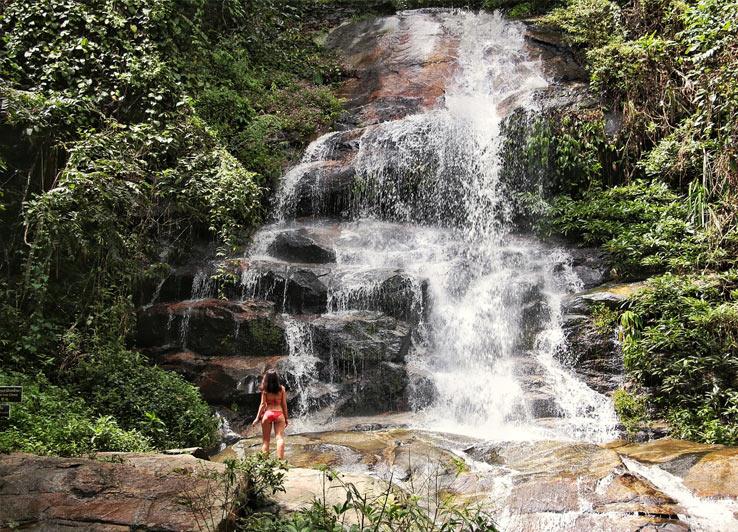 Природные места, что посмотреть в ЧиангМае. Водопад Huay Kaew, в окрестностях Чиангмая