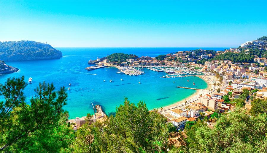 остров Майорка в Средиземном море, Испания