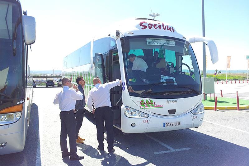 Автобус Socibus по маршруту Мадрид - Кордоба
