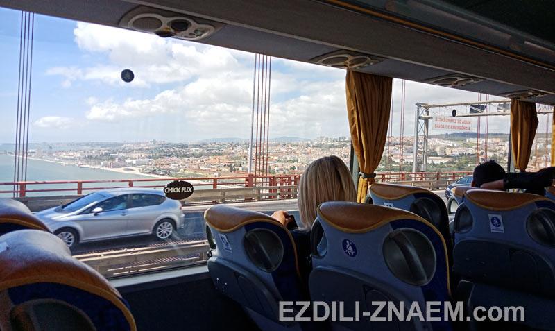 Автобус в Лиссабон