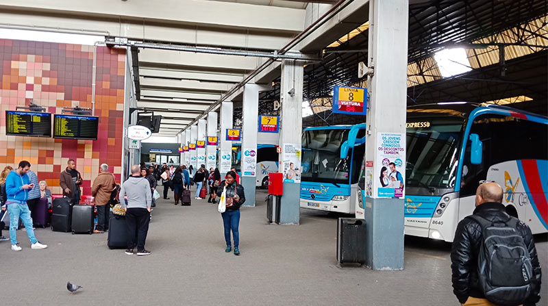 Автовокзал Sete Rios в Лиссабоне