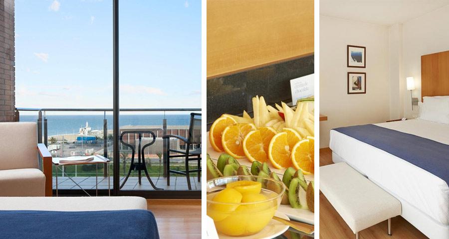 NH Hesperia Barcelona del Mar - один из лучших недорогих отелей в Барселоне у моря