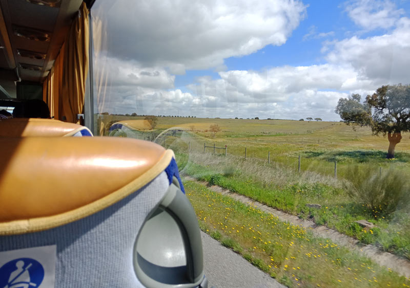 На автобусе из Албуфейры в Лиссабон