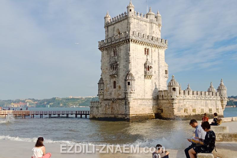 Башня Торре ди Белем в Лиссабоне