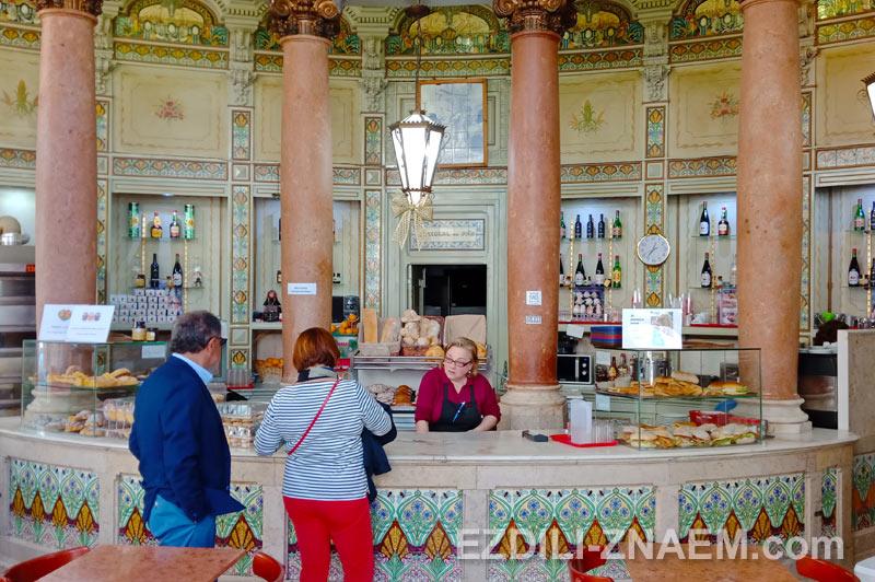 Старинные кафетерии Лиссабона