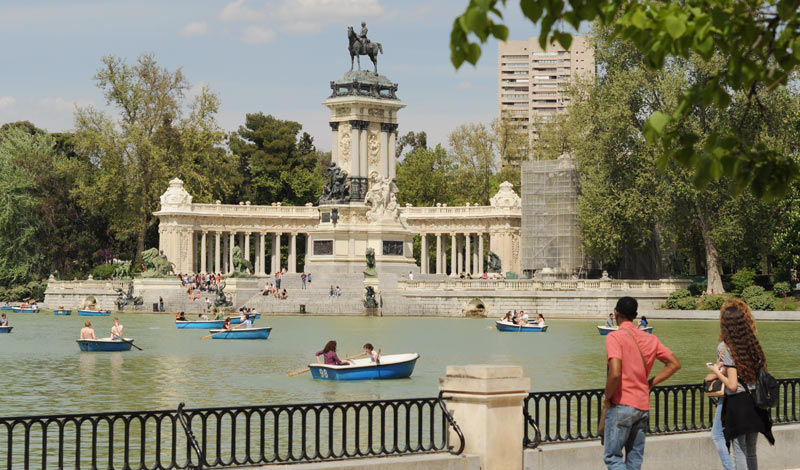 Парк Ретиро в Мадриде