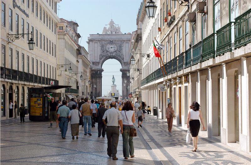 Прогулки в центре Лиссабона