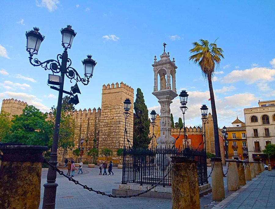 Севилья в Испании
