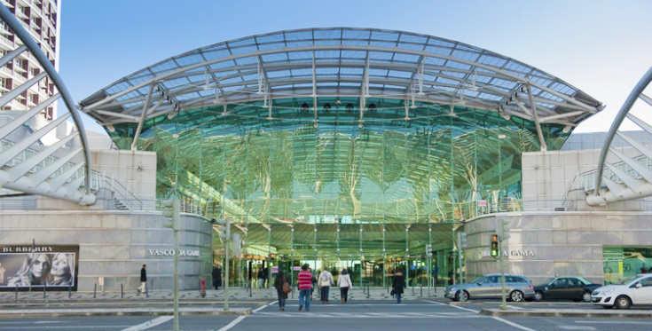 """Торговый центр """"Васко да Гама"""", Лиссабон"""