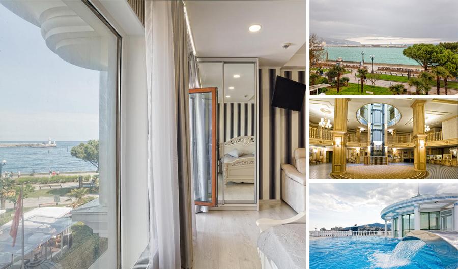 Элитные апартаменты у моря в Ялте