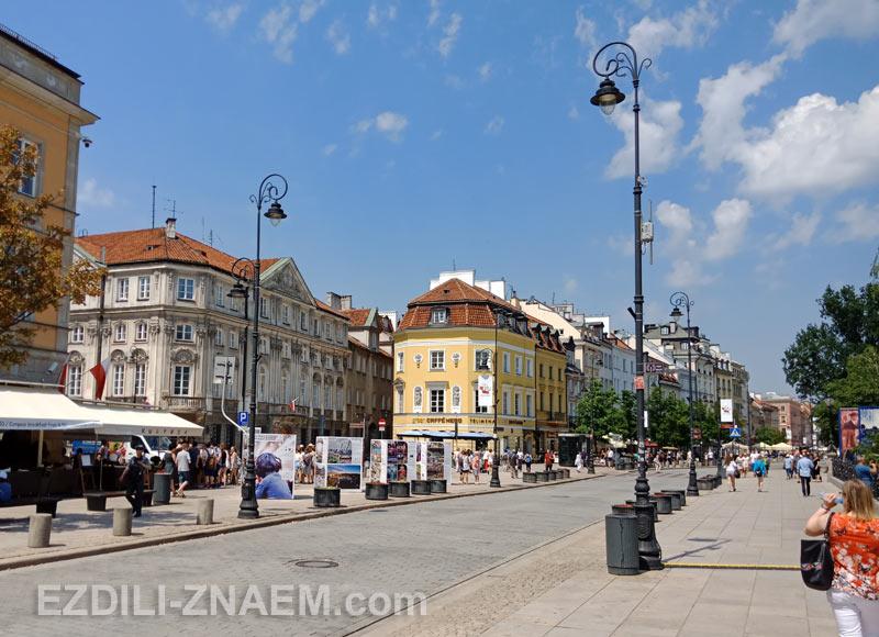 Улица Краковское предместье, Варшава