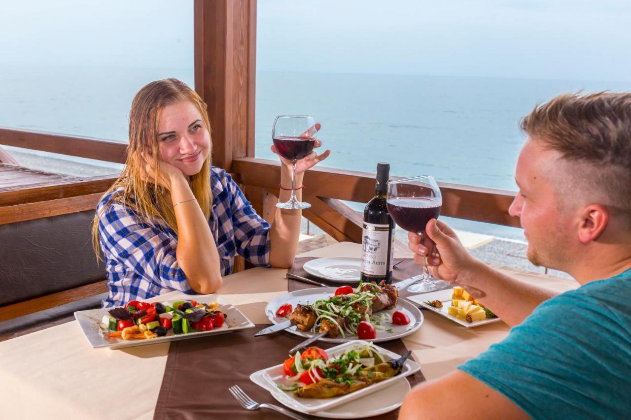 Napra - отель с трехразовым питанием - приятный отдых на море в Абхазии
