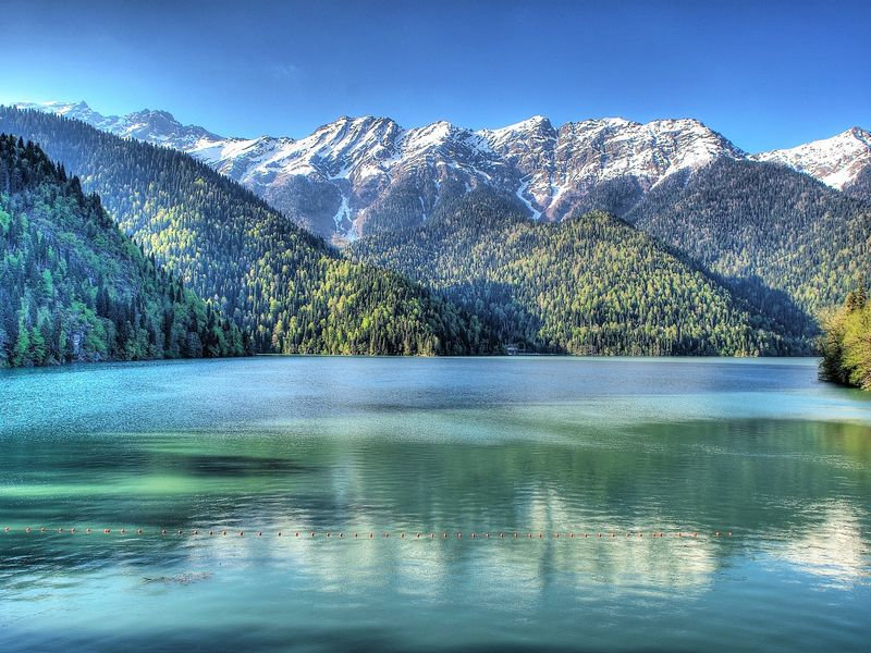 Абхазия, озеро Рица