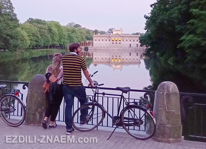 велоэкскурсия по Варшаве