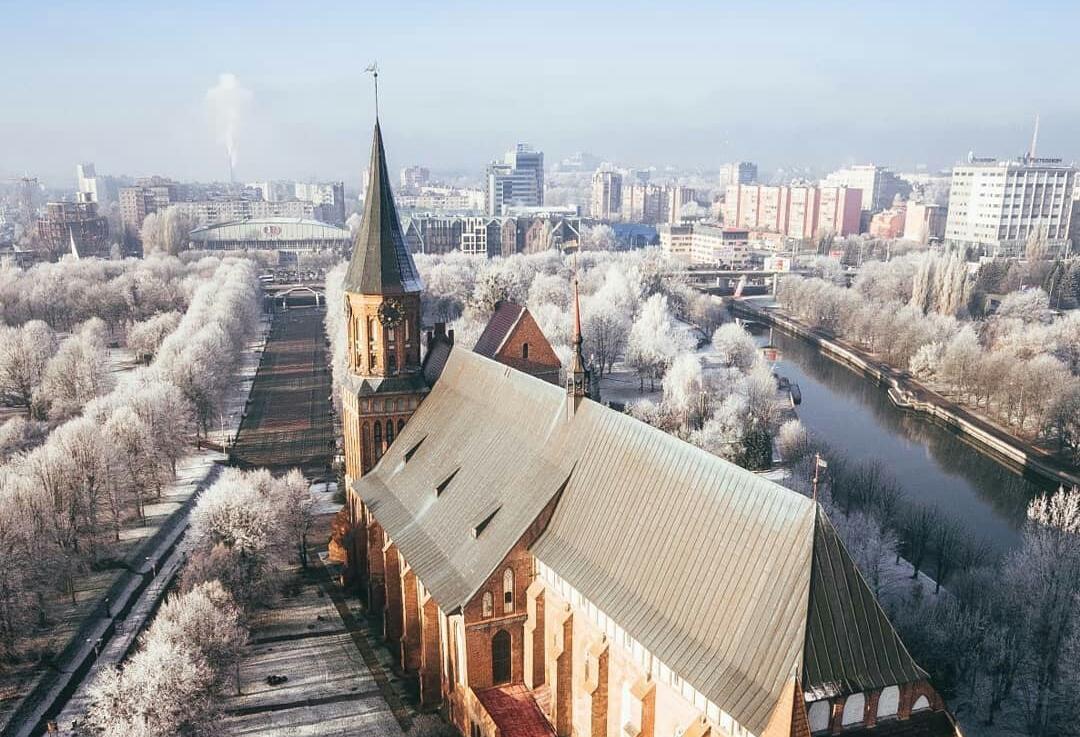 Калининград зимой