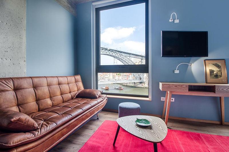 """апартаменты """"Bridge It"""" с видом на мост Луиша, Порто"""