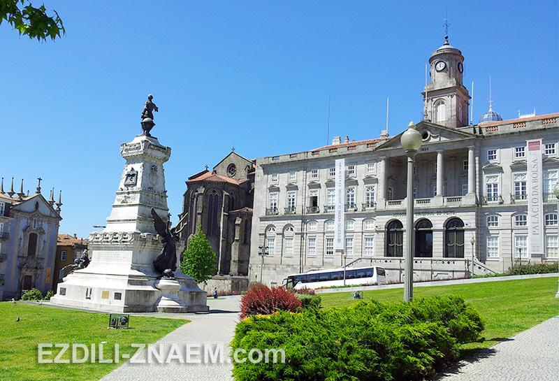 Интересные места, что посмотреть в Порту: Дворец Bolsa