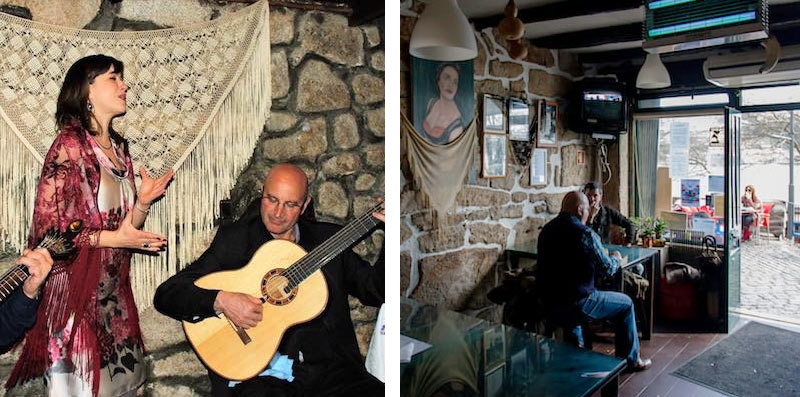 Где послушать фадо в Порто