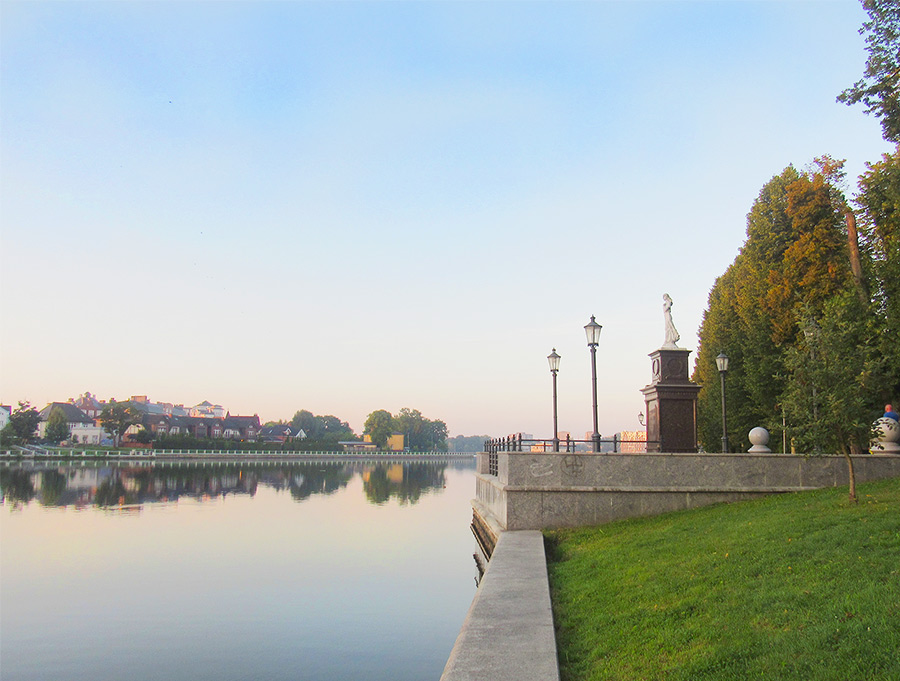 Фото Калининграда. Верхнее озеро