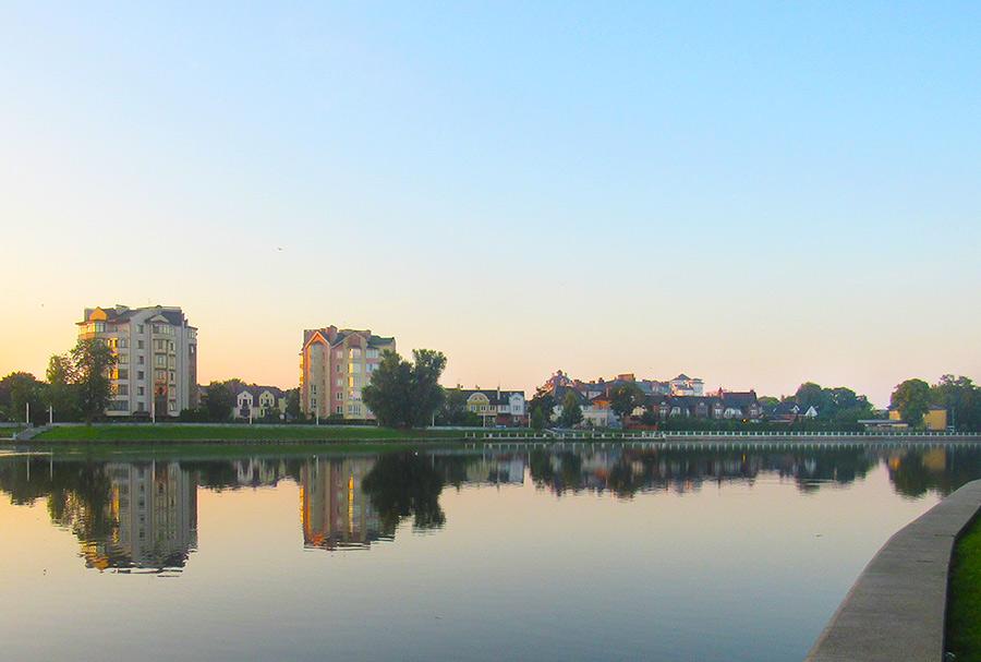 Что посмотреть в Калининграде: Верхнее озеро