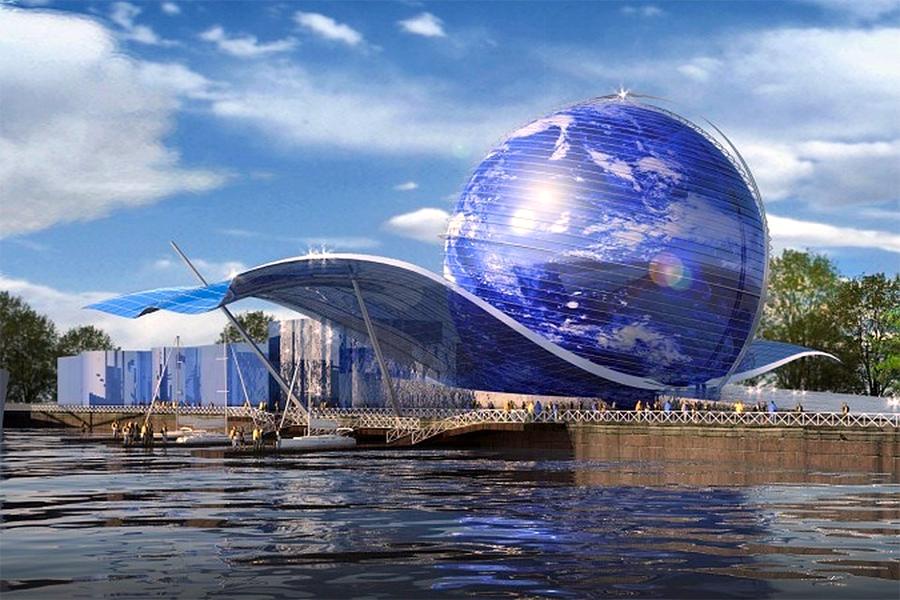 Музей Мирового Океана. Экспозиционный корпус «Планета Океан», проект