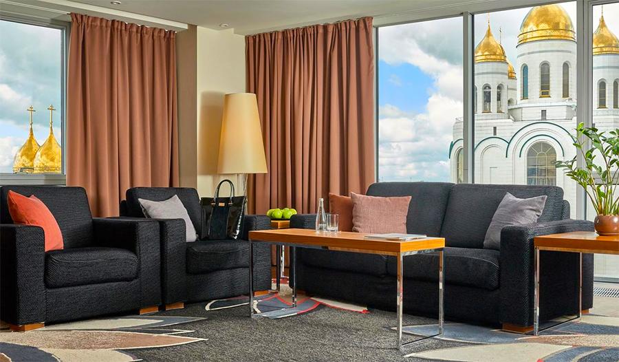 Номер в отеле Radisson Blu Kaliningrad - с отличным видом