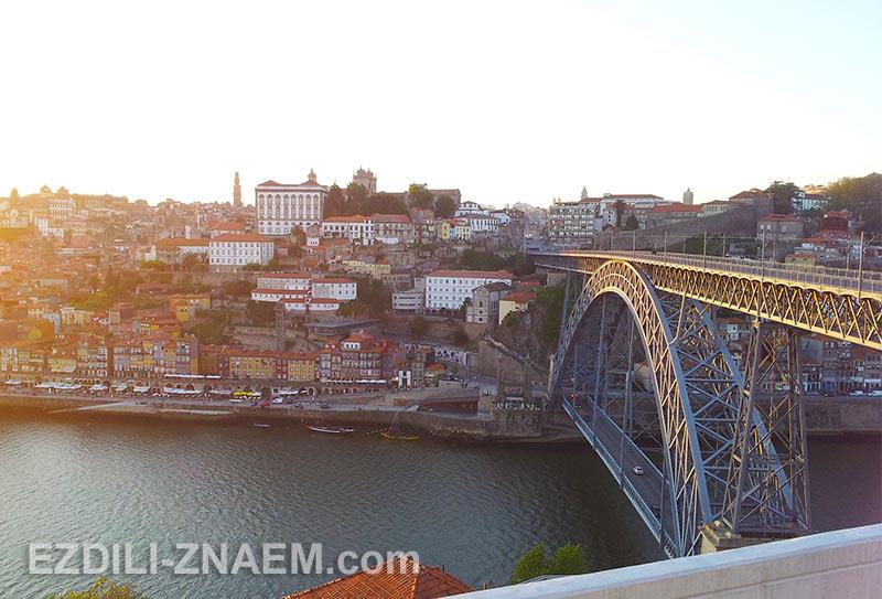 мост Луиша 1 в Порто