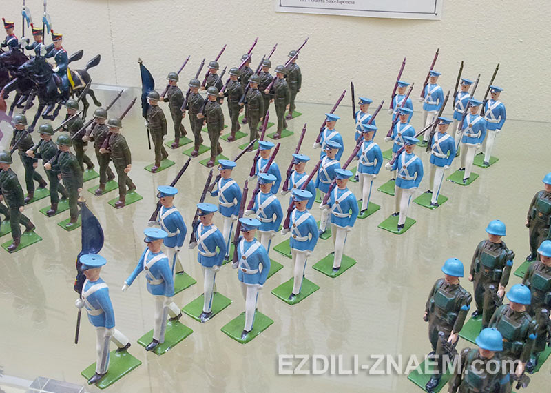 Музей оловянных солдатиков в Порто