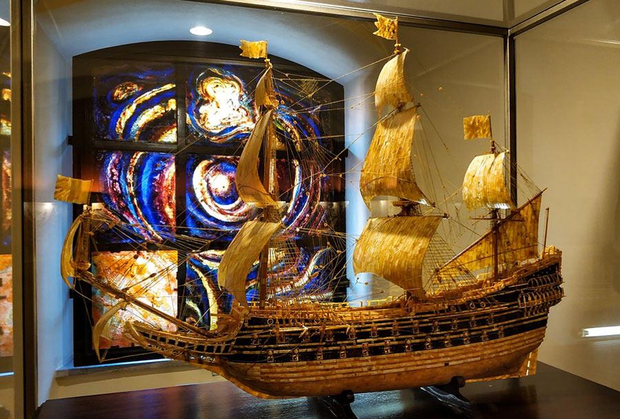 В музее Янтаря в Калининграде