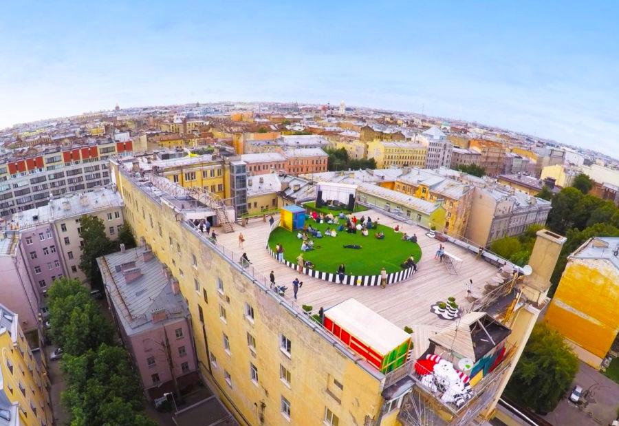 Лофт проект «Этажи» в Санкт-Петеребурге
