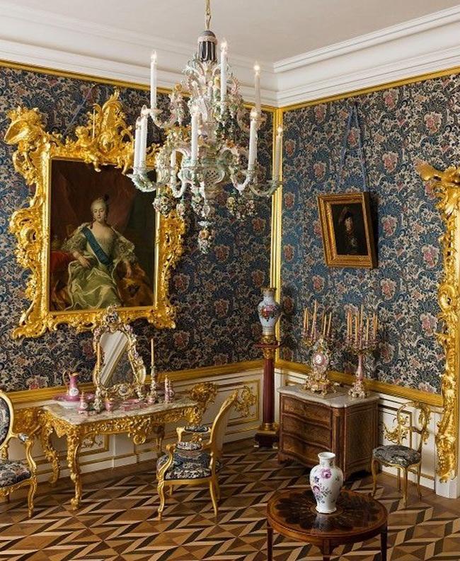 Петергоф, интерьер Большого Дворца