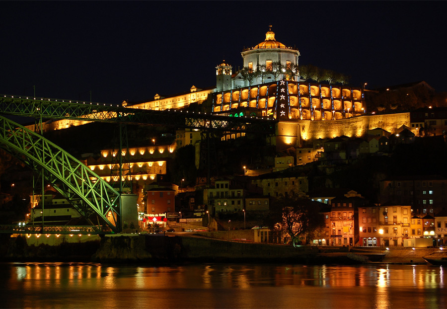 Монастырь Serra do Pilar в Порту