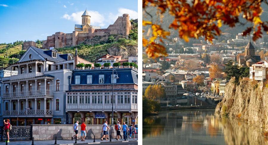 Тбилиси - одно из лучших мест, куда поехать в октябре