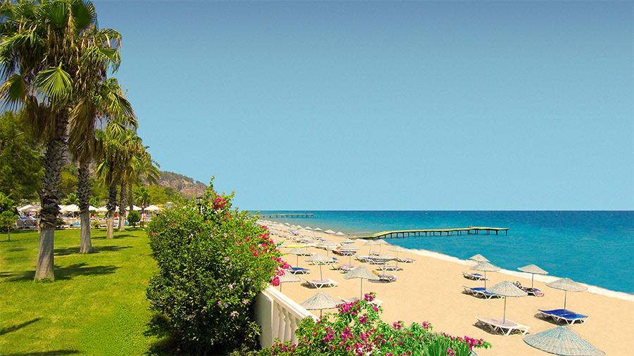 Пляжный отдых в Турции в октябре