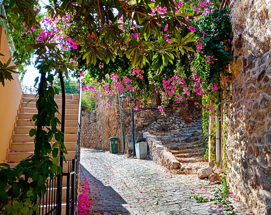 Улицы старой Алании
