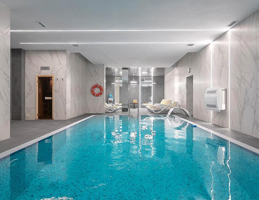 """Подогреваемый бассейн в отеле """"Аркадия"""", Эстосадок"""
