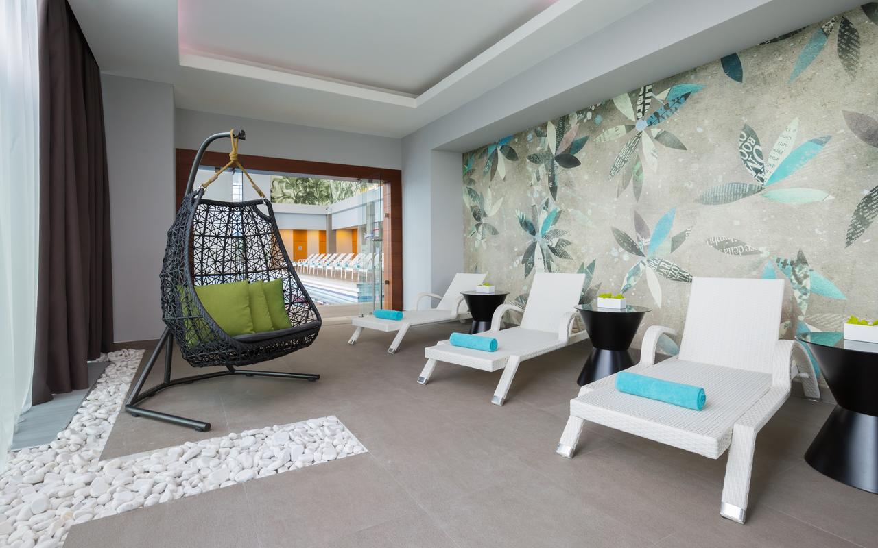 В отеле Radisson Blu Paradise