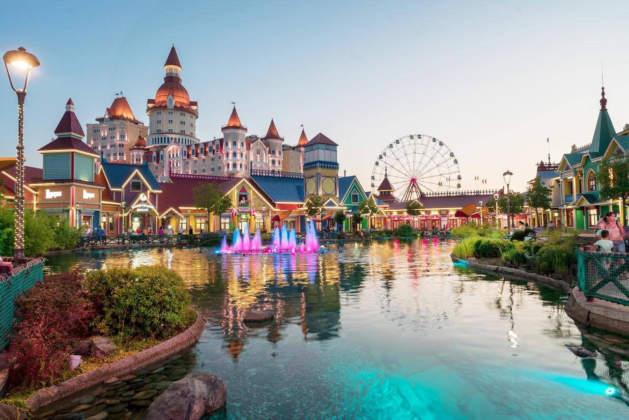 Отель Сочи Парк Богатырь с бесплатным посещением Парка развлечений