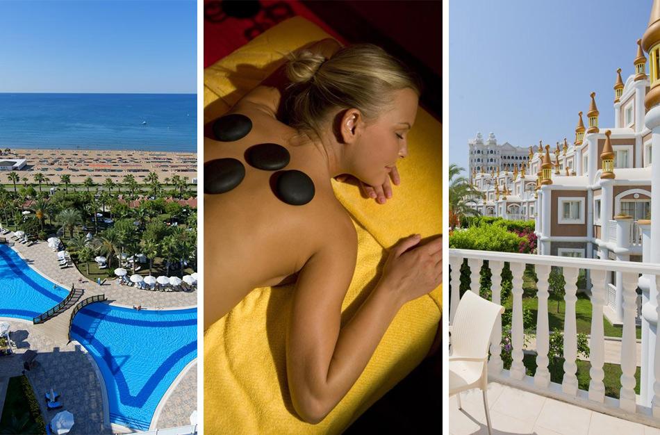Kamelya Selin Luxury Resort - пятизвездочный отель в Сиде с подогреваемым бассейном