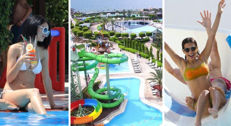 Список отелей с подогреваемыми бассейнами в Турции