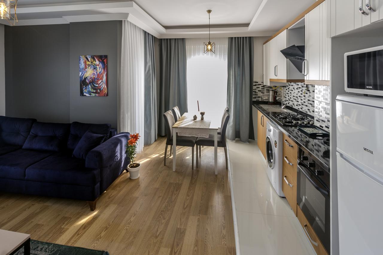 Недорогие апартаменты Aspendos Seaside в Анталии, рядом с морем