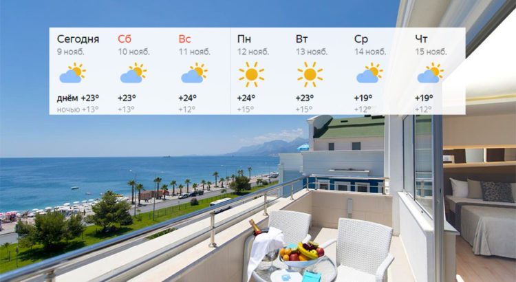 Горящее! Отдых в Турции