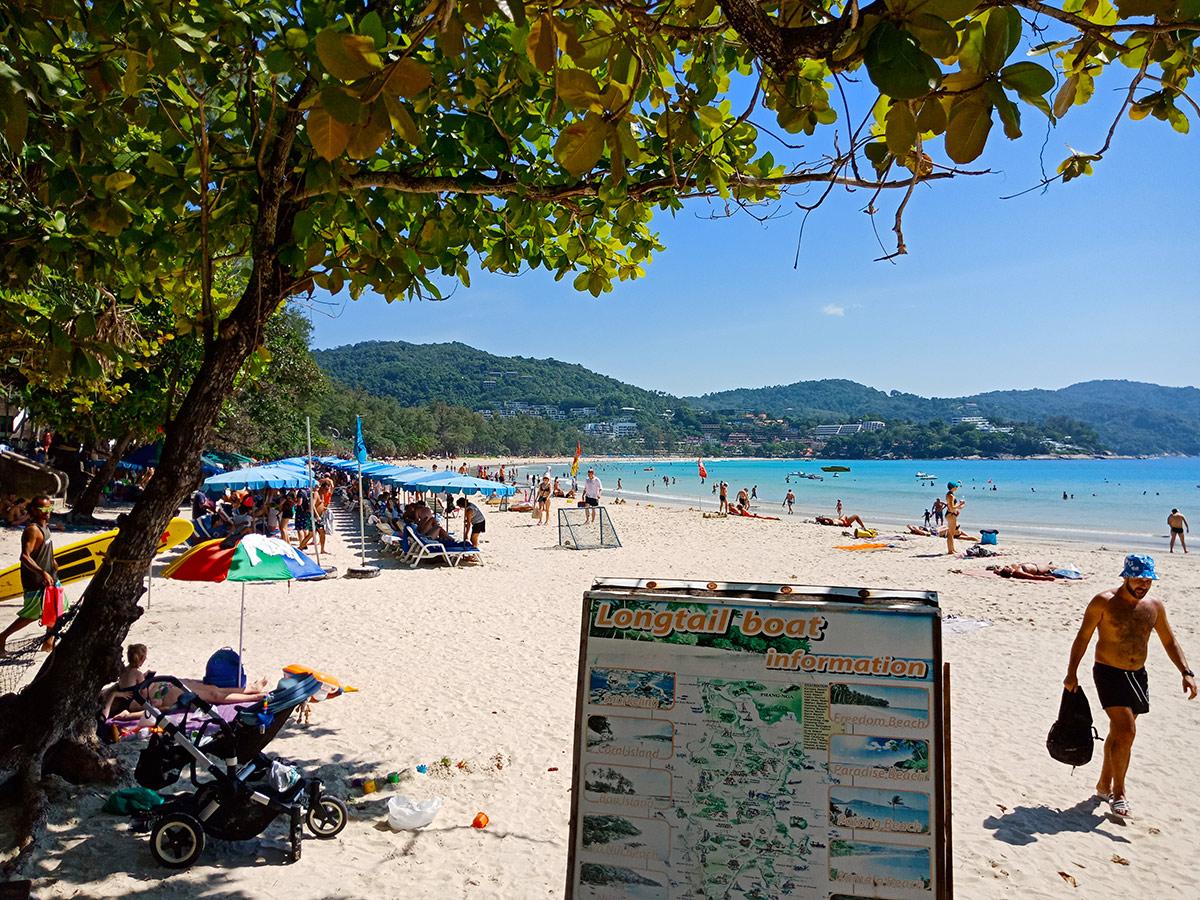 Пляж Ката на Пхукете, Таиланд