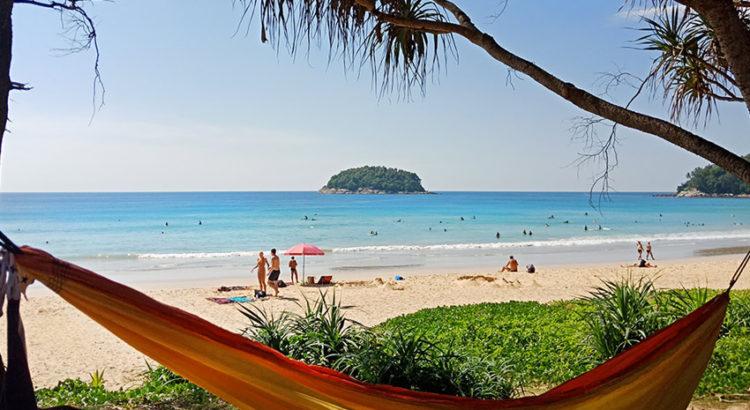 Отдых на пляже Ката, Пхукет, Таиланд