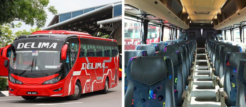 Автобус Куала-Лумпур - Малакка
