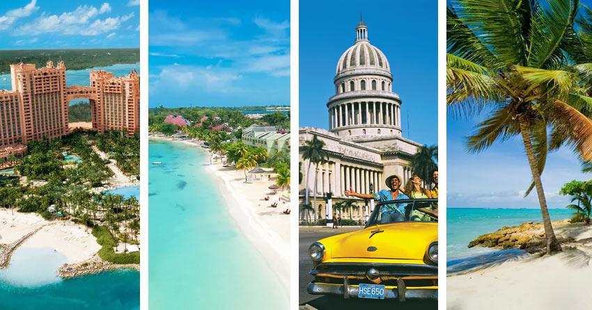 куда поехать без визы на острова Карибского моря