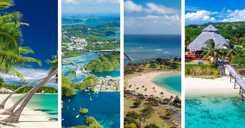 без визы к экзотическим островам Тихого океана